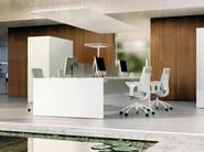 Rectangular workstation desk QUARANTA5   Workstation desk - FANTONI