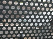 Titanium-Zinc Perforated and embossed sheet for facade Perforated and embossed sheet for facade - RHEINZINK Italia