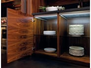 Rosewood kitchen with island NANTÌA ROSEWOOD - TONCELLI CUCINE