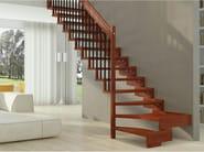 Wooden Open staircase TRASFORMA DESIGN - RINTAL