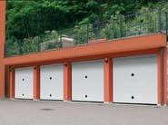 Aluminium garage door ORUS - Breda Sistemi Industriali