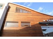 Wood panel for facade WOODWRAP - Ravaioli Legnami