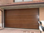 Wooden garage door CIVIC - Breda Sistemi Industriali