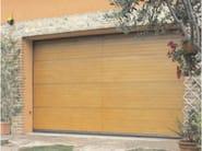 Okoumé garage door POLIS - Breda Sistemi Industriali