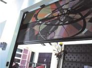Sectional door RESINS JEWELS - Breda Sistemi Industriali
