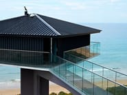 Glass balustrade EASY GLASS® SLIM - Q-RAILING ITALIA