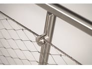Stainless steel balustrade Q-LINE ® EASY Q-WEB - Q-RAILING ITALIA