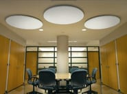 Acoustic ceiling clouds OPTIMA CANOPY - ARMSTRONG Building Products