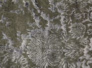 Patterned handmade rectangular rug ANGUILLA GREY - EDITION BOUGAINVILLE