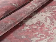 Patterned handmade rectangular rug MAGELLAN SCRATCH PINK | Handmade rug - EDITION BOUGAINVILLE