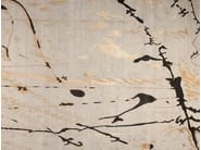 Patterned handmade rectangular rug PATAGONIA - EDITION BOUGAINVILLE