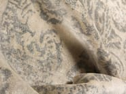 Patterned handmade rectangular rug SUMATRA GREY - EDITION BOUGAINVILLE
