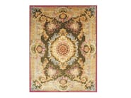 Patterned rectangular wool rug MARGAUX - EDITION BOUGAINVILLE