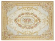 Rectangular wool rug SAINT CLAIR - EDITION BOUGAINVILLE