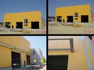 Insulated metal panel for facade MEC - ITALPANNELLI