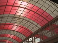 Polycarbonate curved roofing
