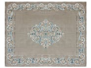 Patterned rectangular rug AMIRAL TURQUOISE - EDITION BOUGAINVILLE
