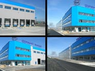 Insulated metal panel for facade MEC W - ITALPANNELLI