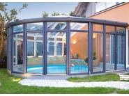Aluminium and PVC conservatory Aluminium and PVC conservatory - FINSTRAL