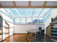 Continuous rooflight Lucernario in vetro - FINSTRAL