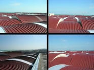 Insulated metal panel for roof PentaR6 - ITALPANNELLI