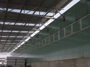 Translucent skylight manufactured with arcoPlus® SUPER 1000