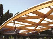 Curved roofing with arcoPlus® Onda Curvo