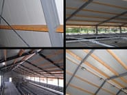 Insulated metal panel for roof OMEGA - ITALPANNELLI