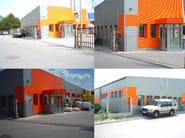 Insulated metal panel for facade SUPER TOP PIANO - ITALPANNELLI
