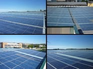 Insulated metal panel for roof ITALVOLTAICO® - ITALPANNELLI