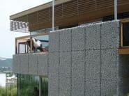 Galvanized steel Metal fabric and mesh NIDO - B&B