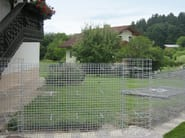 Galvanized steel Metal fabric and mesh NIDO - B&B