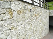 Natural stone finish BIANCO VERDE | Natural stone wall tiles - B&B