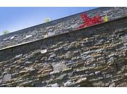 Rivestimento di facciata in pietra naturale LUSERNA REALE - B&B