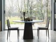 Round wooden dining table AGARICO - LINFA DESIGN