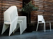 Stackable polyamide chair KATE 2050 - Zanotta