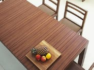 Extending dining table PARENTESI - LINFA DESIGN