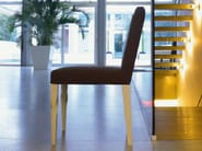 Upholstered wooden chair MORGANA - LINFA DESIGN