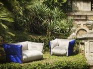 Sofa with removable cover FOYER - GIOVANNETTI COLLEZIONI