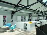 Metal office storage unit with hinged doors HINGED DOOR | Armadio ante a battente - Dieffebi
