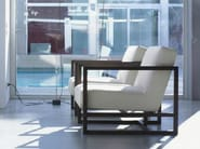 Armchair with removable cover with armrests STATUS - LINFA DESIGN