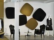 Fabric decorative acoustical panels TURN - Carpet Concept