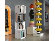 Freestanding sectional bookcase BOLLICINE TOTEM - LINFA DESIGN