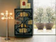 Open divider wooden bookcase DNA - LINFA DESIGN