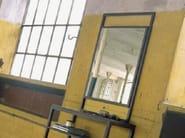 Wall-mounted framed rectangular mirror DORIAN - LINFA DESIGN