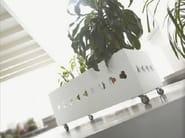 Low solid wood planter IRIS - LINFA DESIGN