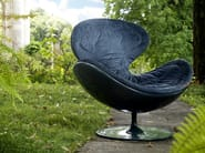 Fabric armchair with removable cover JETSONS - GIOVANNETTI COLLEZIONI