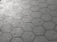 Indoor/outdoor concrete flooring PANOT GAUDÍ - SAS ITALIA - Aldo Larcher