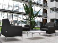Armchair with armrests ALPHABET - DTA | Armchair - Segis