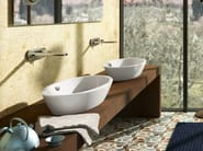 Countertop ceramic washbasin VELIS 60 - 70 - CERAMICA CATALANO